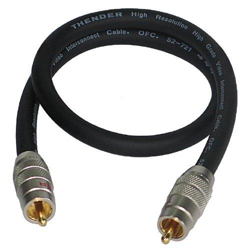 THENDER 53-126 CAVO RCA COASSIALE  hi fi 5m RCA RCA CABLE CONNESSIONE
