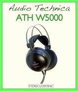 AUDIO TECHNICA  ATH W 5000 CIFFIA HI FI DINAMICA CUFFUE DRIVER53mm sospensione 3D