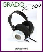 GRADO PS 1000 DYNAMIC HEADPHONES hi fi stereo  PROFESSIONAL