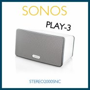 SONOS PLAY 3 SYSTEM SPEAKERS  HiFi wireless streaming