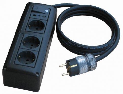 THENDER 25-414 I 3 + 1 Multiple socket schuko 220V Multiple Slipper HI FI HOME VIDEO