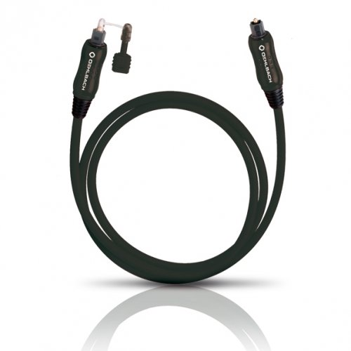 OEHLBACH 66105 Cavo digitale ottico 3m TOSLINK per il jack 3,5mm cable connect