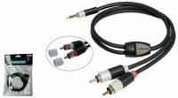 THENDER 15-271 CAVO STEREO 1m 2 RCA PLUG 3,5 mm jack Apple cavi cable