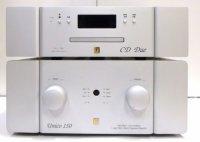 UNISON RESEARCH UNICO 150 + UNICO CD DUE AMPLIFICATORE DUAL MONO DAC STEREO CLASSE A