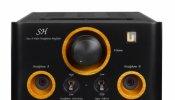 Unison Research SH amplifcatore  cuffia a valvole DAC USB DSD SABRE 32 bit   Classe A nero