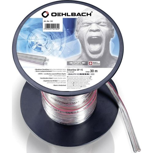 OEHLBACH 1018 CABLE DIFFUSERS SALE TO METRO  Speaker Cables HI FI