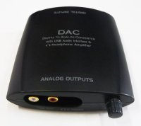G&BL 6296 HPDAC7 CONVERTER DAC D\A USB 3 in digital COAXIAL-OPTICO OUT RCA HEADPHONE