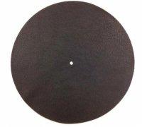 Tappetino professionale stabilizzante pelle lavorata 1,5mm. diametro 29cm.  Nero