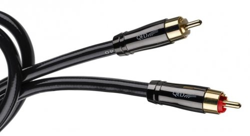 QED Performance AUDIO 40 1m COUPLE RCA CABLE RANGE ANALOGUE SIGNAL PHONO CABLES