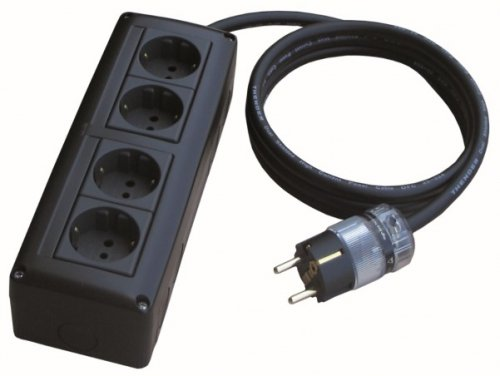 THENDER 25-414 A Multiple socket 4 schuko 220V Multiple ciabatta 25414 feeds
