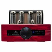 SYNTHESIS AUDIO 96 DC Tubes amplifer Classe A EL34/6CA7ECC82/ 12AU7 red