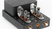UNISON RESEARCH TRIODE 25 USB AMPLIFICATORE VALVOLARE DAC USB Stereo HI FI nero black