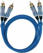 OEHLBACH 2703 BEAT 300 cavo NF 2 RCA / 2 RCA CAVI audio HI FI 3 Metri OFC CABLE CONNECT