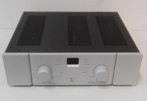 UNISON RESEARCH AMPLIFICATORE UNICO DUE AMPLIFICATORE IBRIDO DUAL MONO PHONO MM-MC USB DAC DSD128