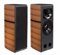 Unison Research MAX 1 speakers hi fi 94db Reflex stereo Speakers walnut