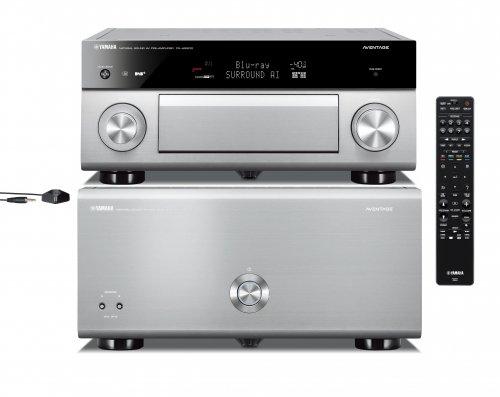 YAMAHA SERIE AVENTAGE FINALE MX A 5200 + PRE CX A 5200 surround 11.2 HOME THEATRE