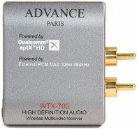ADVANCE ACOUSTIC WTX 700 BLUETOOTH RICEVITORE WIRELESS DAC PCM HD HI FI PARIS