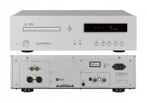 LUXMAN D-03X LETTORE CD DAC MQA DSD USB HiRes PCM 32/384KHZ  alta risoluzione