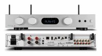 AUDIOLAB 6000A PLAY AMPLIFICATORE SILVER STREAMING - ALL IN ONE -BLUETOOTH DAC